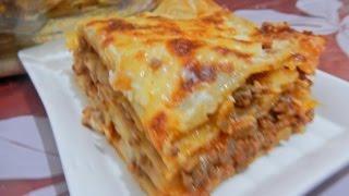 getlinkyoutube.com-لازانيا باللحم المفروم / كراتان / مع طبخ ليلىLasagne à la viande hachée