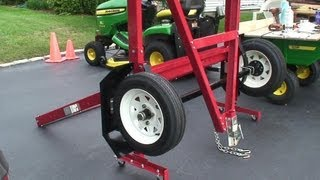 getlinkyoutube.com-Harbor Freight folding trailer assembly, model 90154