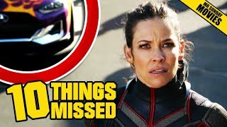 ANT-MAN & The WASP Official Trailer - Things Missed & Easter Eggs