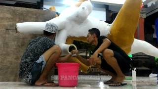 getlinkyoutube.com-Proses Pembuatan Ogoh Ogoh 'Durgha Murti' Br. Tegal Buah, Padangsambian Klod, Denpasar Barat.
