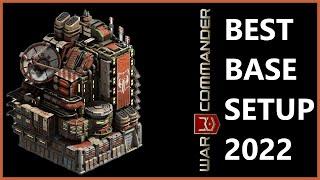 getlinkyoutube.com-BEST BASE SETUP 2017 . WAR COMMANDER