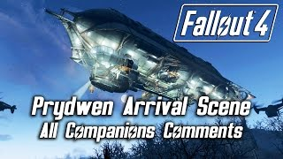 Fallout 4 - Prydwen Arrival Scene - All Companions Comments