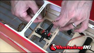 Part 2 MXSR Install Servos and Linkages Part 2