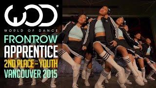 getlinkyoutube.com-Apprentice   2nd Place Junior   FRONTROW   World of Dance Vancouver 2015 #WODVAN2015