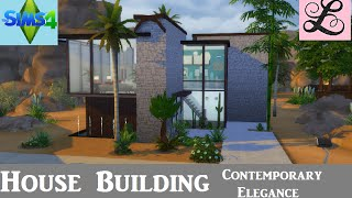 getlinkyoutube.com-The Sims 4: House Building - Contemporary Elegance