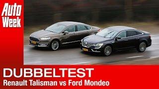 getlinkyoutube.com-Renault Talisman Initiale Paris vs. Ford Vignale Mondeo
