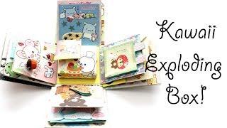 getlinkyoutube.com-Kawaii San-X Exploding Box (Timelapse)