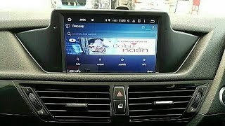 getlinkyoutube.com-BMW X1กับจอตรงรุ่นระบบAndroid ที่จัดเต็มทุกฟังก์ชั่นแห่งแรกที่ Mirage Audio 0866249514