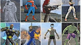 getlinkyoutube.com-DCUO Character Create Marvel Heroes, Hitman, Mirror's Edge, Astro Boy & More!
