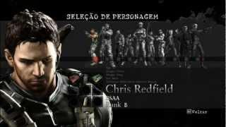 getlinkyoutube.com-Resident Evil 5 - Armas Infinitas e Trajes Especiais