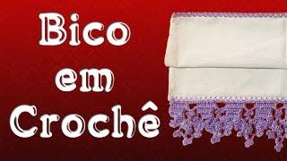 getlinkyoutube.com-Bico em Crochê - Marilda Artes