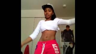 getlinkyoutube.com-Poppin' Remix - Chris Brown Ft. Lil Wayne And Juelz Santana. Hip Rolling Cover..