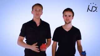 getlinkyoutube.com-Tutorial, Duo Juggling with 3 Balls - Instructional Video