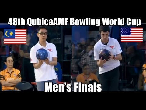 Marshall Kent vs Syafiq Ridhwan - Men's Finals 2012 Bowling World Cup Poland