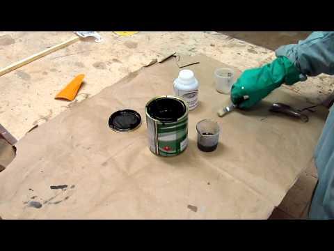 Como pintar peças  alumínio, aço galvanizado ou cromadas