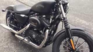 getlinkyoutube.com-2013 Harley Davidson Iron 883 Start up and First Ride!