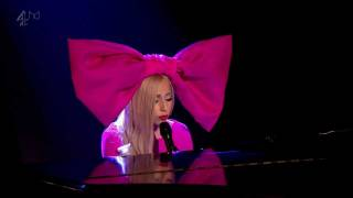 Lady Gaga - Marry The Night Acoustic on Alan Carr: Chatty Man 720p