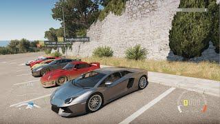 getlinkyoutube.com-Forza Horizon 2 | FH2K15 Built Shootout | Aventador, Meet Up, Cruise, Highway Runs, & More