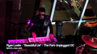Ryan Leslie - Beautiful Lie (Live @ DC)