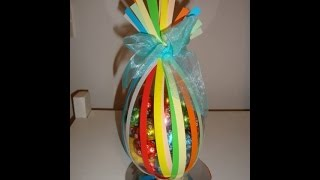 DIY: uovo di pasqua fai da te...per i ritardatari ;)
