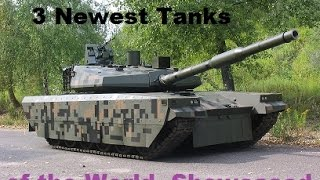 getlinkyoutube.com-3 Newest Tanks showcased at latest Exhibitions: T-90MS Proryv-3, PT-16, & Griffin.