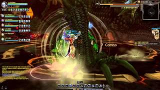 getlinkyoutube.com-[Dragon Nest Kr] T5 Lv. 90 Sniper Wind Shot vs Black Dragon