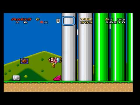Super Mario World #4 Cuidado com as siririca