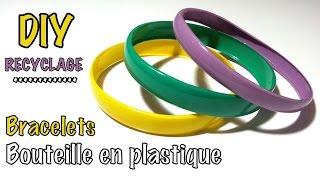 getlinkyoutube.com-DIY recyclage bracelets avec bouteille plastique