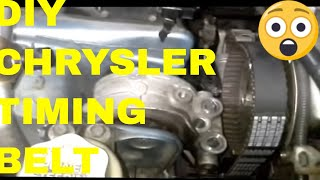 getlinkyoutube.com-Replacing the Timing Belt on a Dodge Stratus