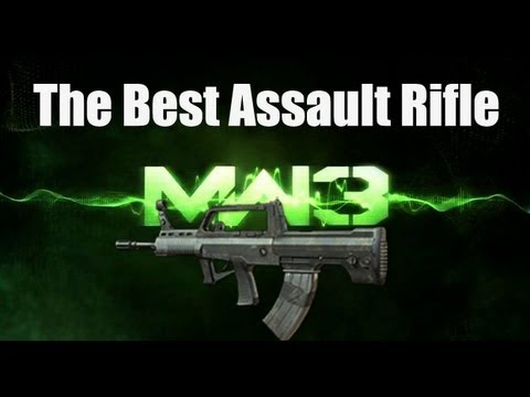 MW3 Best Guns & Perks! - The Best Assault Rifle