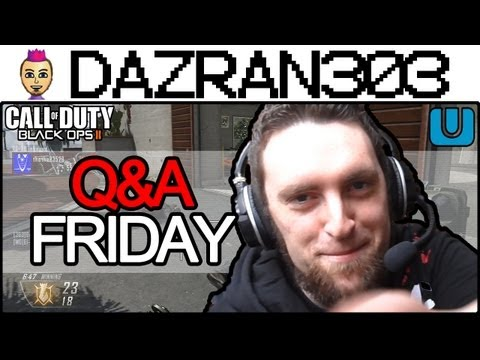 Call of Duty Black Ops 2 WiiU - Q&A FRIDAY - Wii-MOTE GAMEPLAY COMMENTARY 52-6 KILL CONFIRMED Raid Dazran303 BO2 WiiU