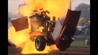 getlinkyoutube.com-Tractorpulling - Best of Crash