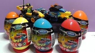 Машинки Лего Lego CARS Kinder Surprise Киндер сюрпризы с машинками (Мультик про машинки)
