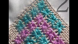 getlinkyoutube.com-شكل عصري في الراندة بزواق الحرير في نصف الطوق - الجزء 2 randa