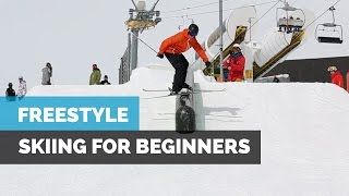 getlinkyoutube.com-FREESTYLE SKIING FOR BEGINNERS | HOW TO SKI IN THE PARK