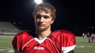 Post Game interview with Park Hill Trojans Kyle Francis