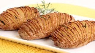 getlinkyoutube.com-Hasselback Potatoes Recipe - Laura Vitale - Laura in the Kitchen Episode 850
