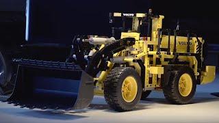 Volvo RC Wheel Loader - LEGO Technic - behind the design 42030