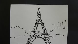 getlinkyoutube.com-Kids Can Draw: Eiffel Tower