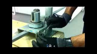 How to use a manual stirrup bender - SIMA UK