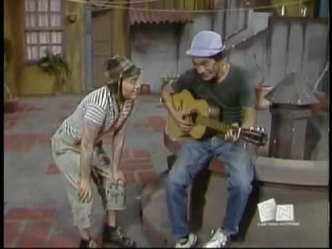 Chaves 1975 Episódio 06 - Tocando Violão