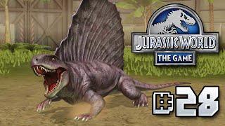 getlinkyoutube.com-Dimetrodon Released! || Jurassic World - The Game - Ep 28 HD
