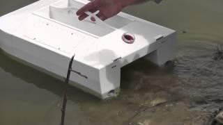 getlinkyoutube.com-Bait Boat TITANIK-4 Test 2/4