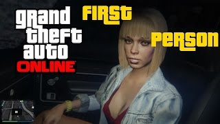 getlinkyoutube.com-GTA 5 Online - PICKING UP A HOOKER IN FIRST PERSON!!! [UPDATED]