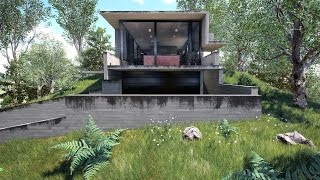 getlinkyoutube.com-Unreal Engine Exterior Day-Time Architectural Visualization