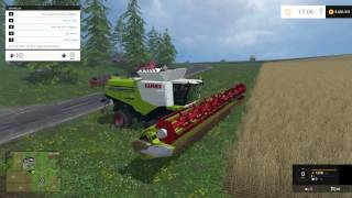 getlinkyoutube.com-Farming Simulator 2015 Claas Lexion 780 TT Combines Mod