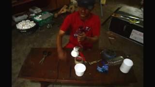 getlinkyoutube.com-CARA MEMBUAT LAMPU HIAS kurang dari 5 menit menggunakan botol plastik bekas (kerajinan tangan)