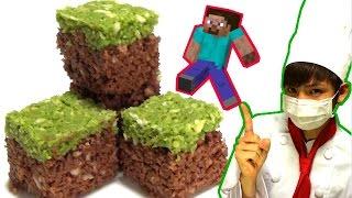 【Minecraft】草ブロック作ってみた!【赤髪のとも】How to make a grass block
