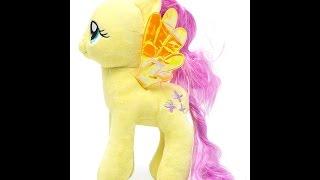 getlinkyoutube.com-Мой маленький пони - Флаттершай.  Мягкая игрушка. Посылка из Китая / Fluttershy -  My Little Pony