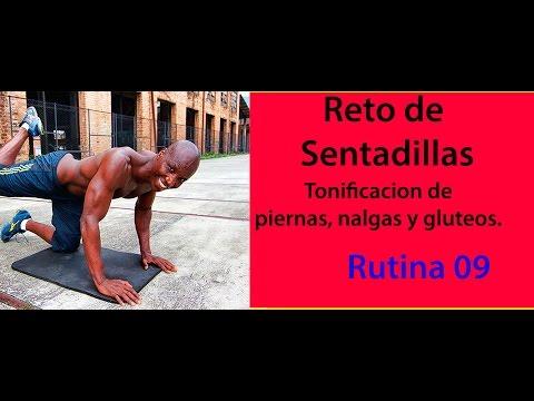 ENTRENAMIENTO DE PIERNAS Y GLUTEOS RUTINA  09